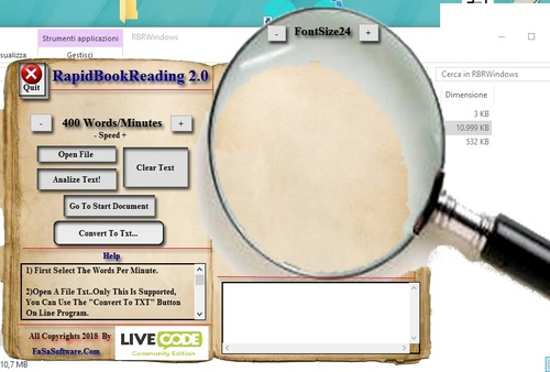 Product picture Rapid Book Reading For Linux